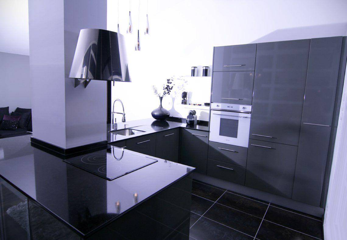 Plan de travail cuisine en granit noir Zimbabwe