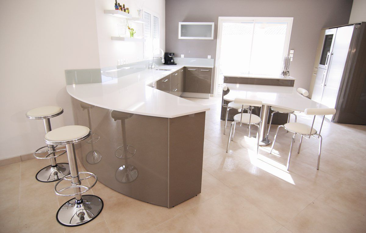 Table en silestone